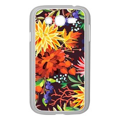 Autumn Flowers Pattern 2 Samsung Galaxy Grand Duos I9082 Case (white) by tarastyle