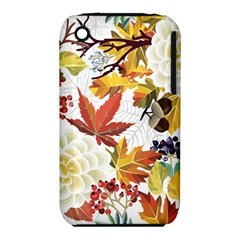 Autumn Flowers Pattern 3 Iphone 3s/3gs by tarastyle