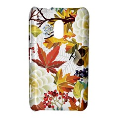 Autumn Flowers Pattern 3 Nokia Lumia 620 by tarastyle