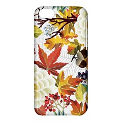 Autumn Flowers Pattern 3 Apple Iphone 5c Hardshell Case by tarastyle