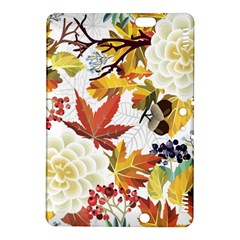 Autumn Flowers Pattern 3 Kindle Fire Hdx 8 9  Hardshell Case by tarastyle