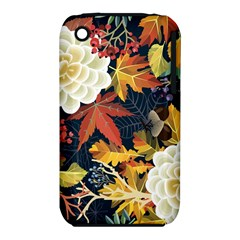 Autumn Flowers Pattern 4 Iphone 3s/3gs by tarastyle
