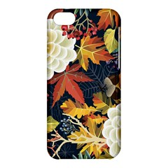 Autumn Flowers Pattern 4 Apple Iphone 5c Hardshell Case by tarastyle