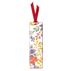 Autumn Flowers Pattern 5 Small Book Marks by tarastyle