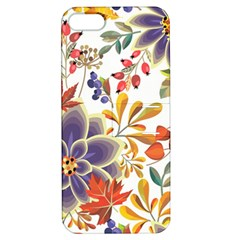 Autumn Flowers Pattern 5 Apple Iphone 5 Hardshell Case With Stand by tarastyle