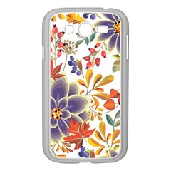 Autumn Flowers Pattern 5 Samsung Galaxy Grand Duos I9082 Case (white) by tarastyle