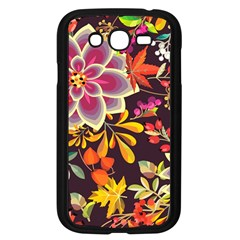Autumn Flowers Pattern 6 Samsung Galaxy Grand Duos I9082 Case (black) by tarastyle