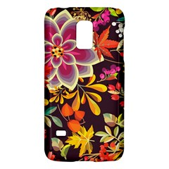 Autumn Flowers Pattern 6 Galaxy S5 Mini by tarastyle