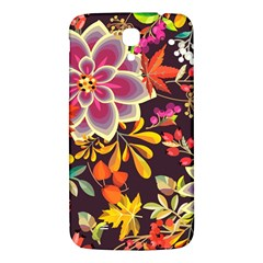 Autumn Flowers Pattern 6 Samsung Galaxy Mega I9200 Hardshell Back Case by tarastyle