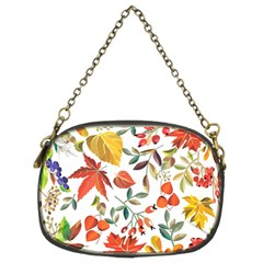 Autumn Flowers Pattern 7 Chain Purses (two Sides)  by tarastyle