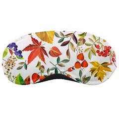 Autumn Flowers Pattern 7 Sleeping Masks by tarastyle