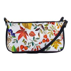 Autumn Flowers Pattern 7 Shoulder Clutch Bags by tarastyle