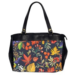 Autumn Flowers Pattern 8 Office Handbags (2 Sides)  by tarastyle