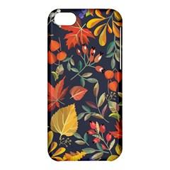 Autumn Flowers Pattern 8 Apple Iphone 5c Hardshell Case by tarastyle
