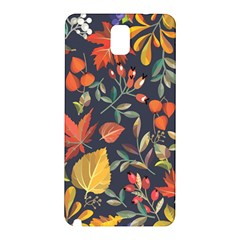 Autumn Flowers Pattern 8 Samsung Galaxy Note 3 N9005 Hardshell Back Case by tarastyle