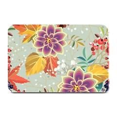 Autumn Flowers Pattern 9 Plate Mats by tarastyle