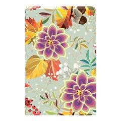 Autumn Flowers Pattern 9 Shower Curtain 48  X 72  (small)  by tarastyle