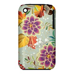 Autumn Flowers Pattern 9 Iphone 3s/3gs by tarastyle