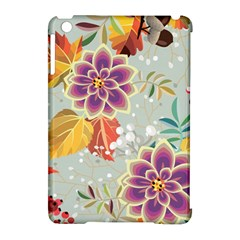 Autumn Flowers Pattern 9 Apple Ipad Mini Hardshell Case (compatible With Smart Cover) by tarastyle