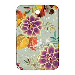 Autumn Flowers Pattern 9 Samsung Galaxy Note 8 0 N5100 Hardshell Case  by tarastyle
