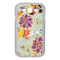 Autumn Flowers Pattern 9 Samsung Galaxy Grand Duos I9082 Case (white) by tarastyle