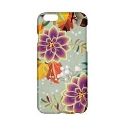 Autumn Flowers Pattern 9 Apple Iphone 6/6s Hardshell Case by tarastyle