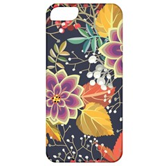 Autumn Flowers Pattern 10 Apple Iphone 5 Classic Hardshell Case by tarastyle