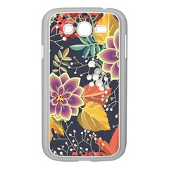 Autumn Flowers Pattern 10 Samsung Galaxy Grand Duos I9082 Case (white) by tarastyle