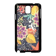 Autumn Flowers Pattern 10 Samsung Galaxy Note 3 Neo Hardshell Case (black) by tarastyle