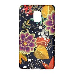 Autumn Flowers Pattern 10 Galaxy Note Edge by tarastyle