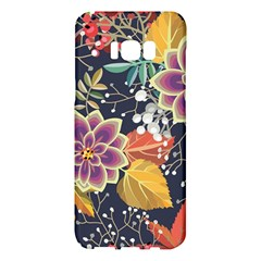 Autumn Flowers Pattern 10 Samsung Galaxy S8 Plus Hardshell Case  by tarastyle