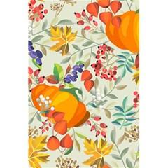 Autumn Flowers Pattern 11 5 5  X 8 5  Notebooks by tarastyle