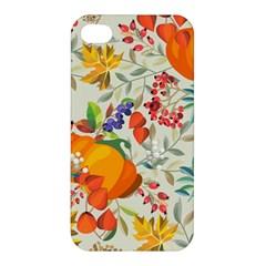 Autumn Flowers Pattern 11 Apple Iphone 4/4s Hardshell Case by tarastyle