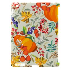 Autumn Flowers Pattern 11 Apple Ipad 3/4 Hardshell Case (compatible With Smart Cover) by tarastyle
