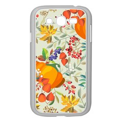 Autumn Flowers Pattern 11 Samsung Galaxy Grand Duos I9082 Case (white) by tarastyle