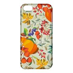Autumn Flowers Pattern 11 Apple Iphone 5c Hardshell Case by tarastyle