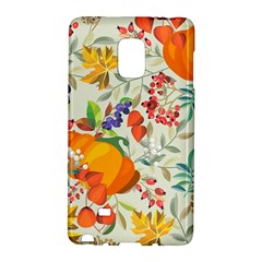 Autumn Flowers Pattern 11 Galaxy Note Edge by tarastyle