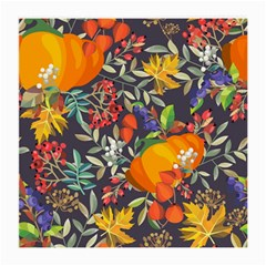 Autumn Flowers Pattern 12 Medium Glasses Cloth by tarastyle