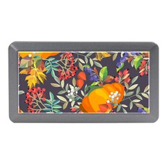 Autumn Flowers Pattern 12 Memory Card Reader (mini) by tarastyle
