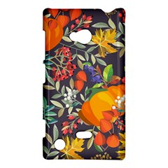 Autumn Flowers Pattern 12 Nokia Lumia 720 by tarastyle