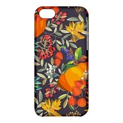 Autumn Flowers Pattern 12 Apple Iphone 5c Hardshell Case by tarastyle