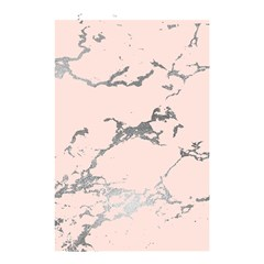 Luxurious Pink Marble 1 Shower Curtain 48  X 72  (small)  by tarastyle