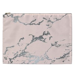 Luxurious Pink Marble 1 Cosmetic Bag (xxl)  by tarastyle