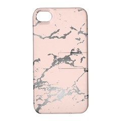 Luxurious Pink Marble 1 Apple Iphone 4/4s Hardshell Case With Stand by tarastyle