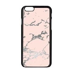 Luxurious Pink Marble 1 Apple Iphone 6/6s Black Enamel Case by tarastyle