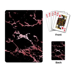 Luxurious Pink Marble 2 Playing Card by tarastyle