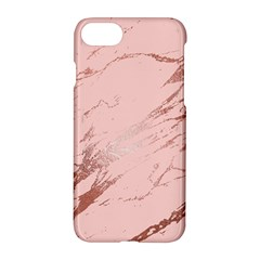 Luxurious Pink Marble 3 Apple Iphone 7 Hardshell Case by tarastyle