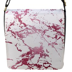 Luxurious Pink Marble 4 Flap Messenger Bag (s) by tarastyle