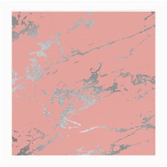 Luxurious Pink Marble 6 Medium Glasses Cloth (2 Side) by tarastyle