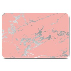Luxurious Pink Marble 6 Large Doormat  by tarastyle